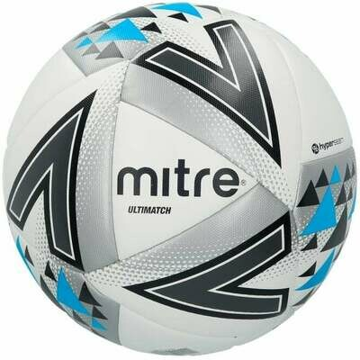 Mitre Ultimatch - white/silver/blue