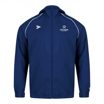 Josh Evans 2020 rain jacket
