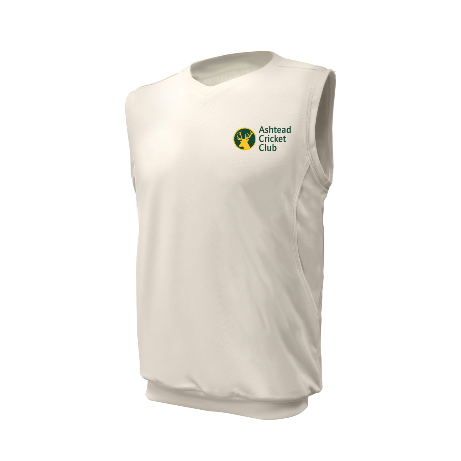 Ashtead Cricket Club embroidered Sleeveless Playing Sweater