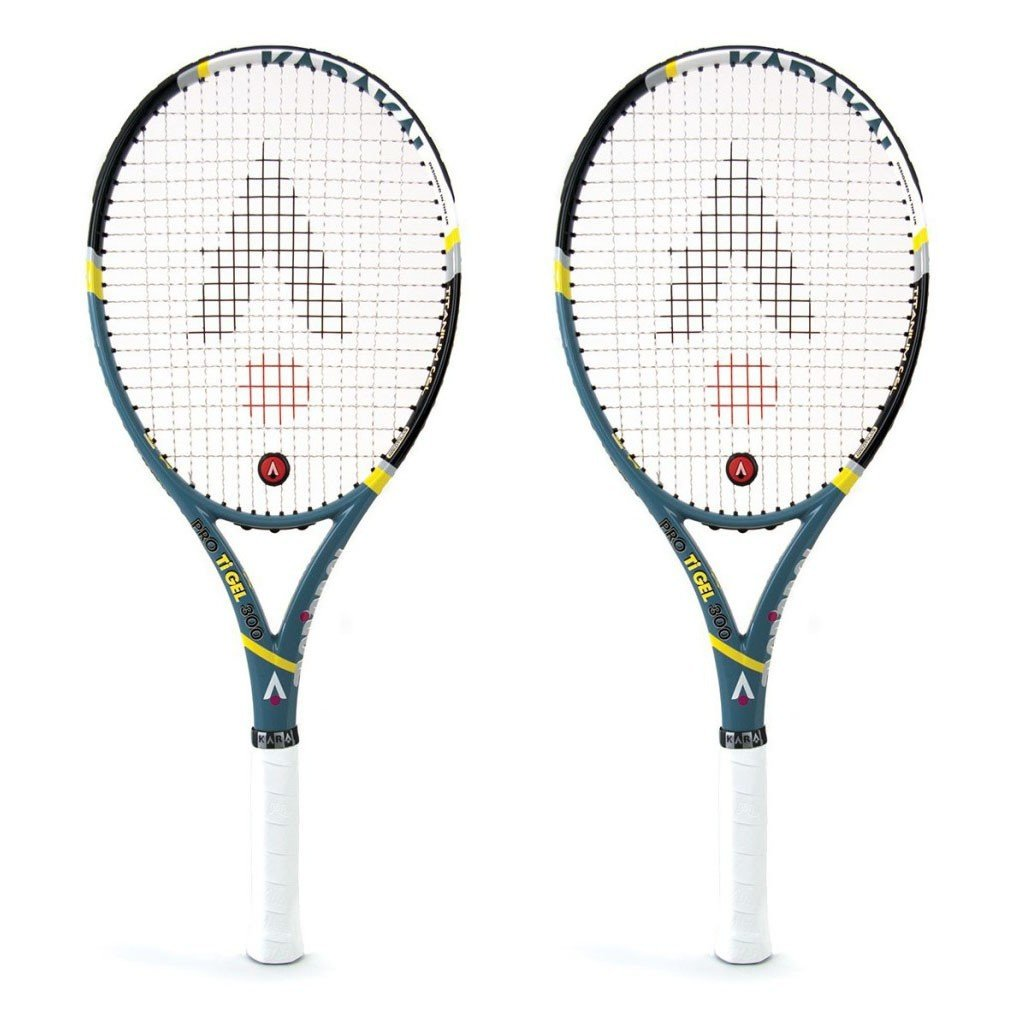 Karakal PRO Ti Gel 300 Tennis Racket - Buy 1 get 1 free!
