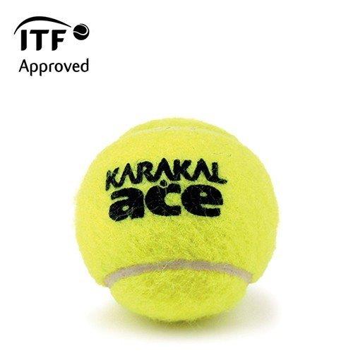 Karakal Ace ITF Approved Championship Tennis Balls