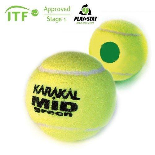 Karakal MID ITF Approved Transition Tennis Balls