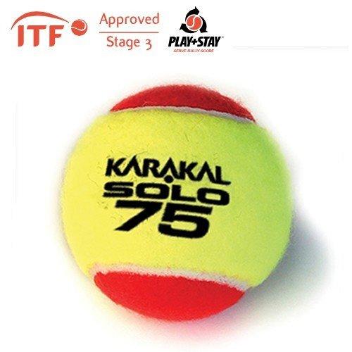 Karakal Solo 75 ITF Approved Transition Tennis Balls
