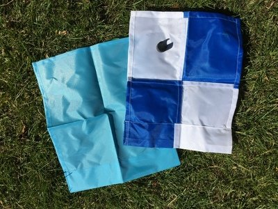 Flag with clip only