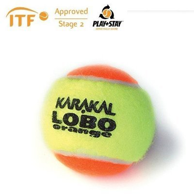 Karakal LoBo ITF Approved Transition Tennis Balls