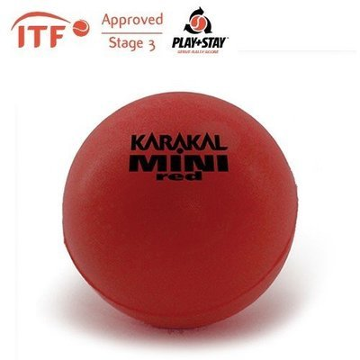 Karakal Mini Foam Red ITF Approved Starter Tennis Balls