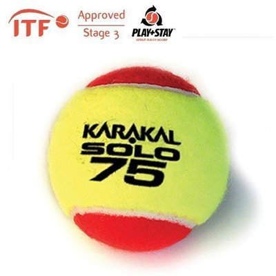 Karakal Solo 75 ITF Approved Transition Tennis Balls