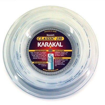 Karakal Classic 130 Squash Strings 200M Coil