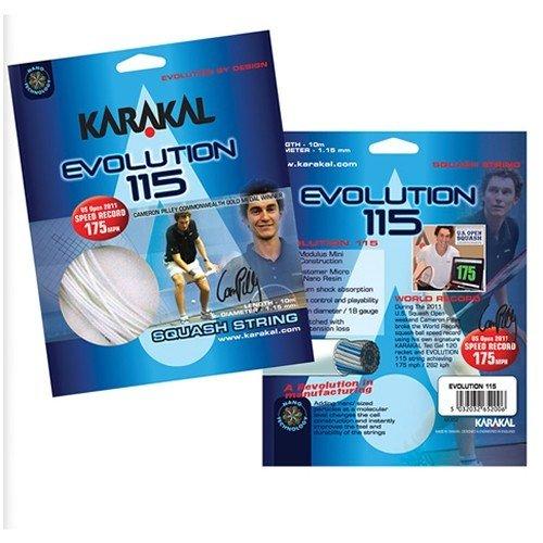Karakal Evolution 115 Squash Strings 10M Set