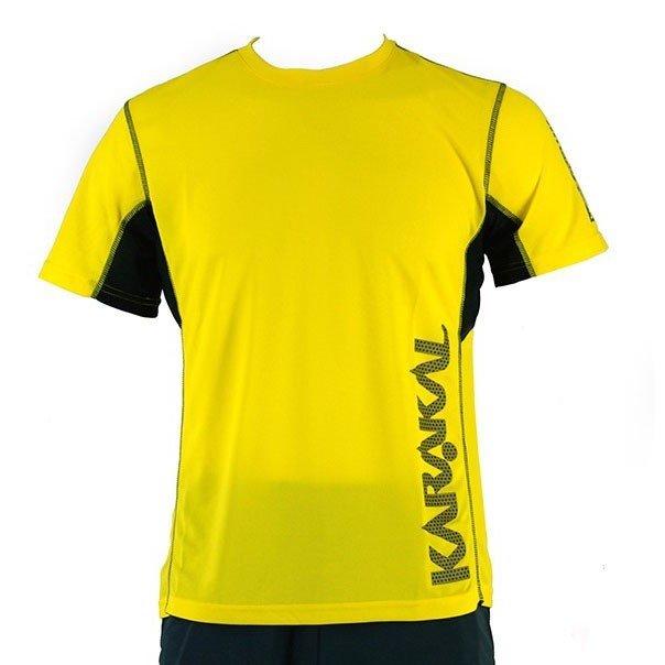 Karakal Pro Tour Tee Yellow