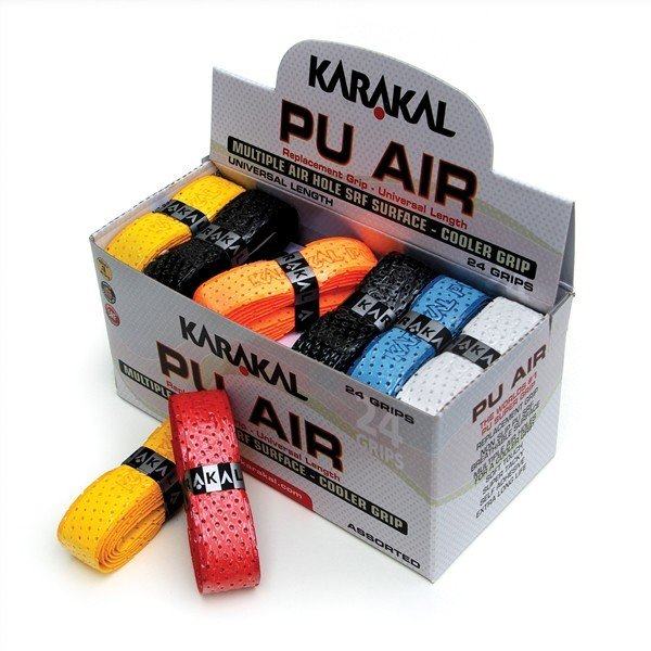 Karakal PU Super Air Grip Assorted - Box of 24