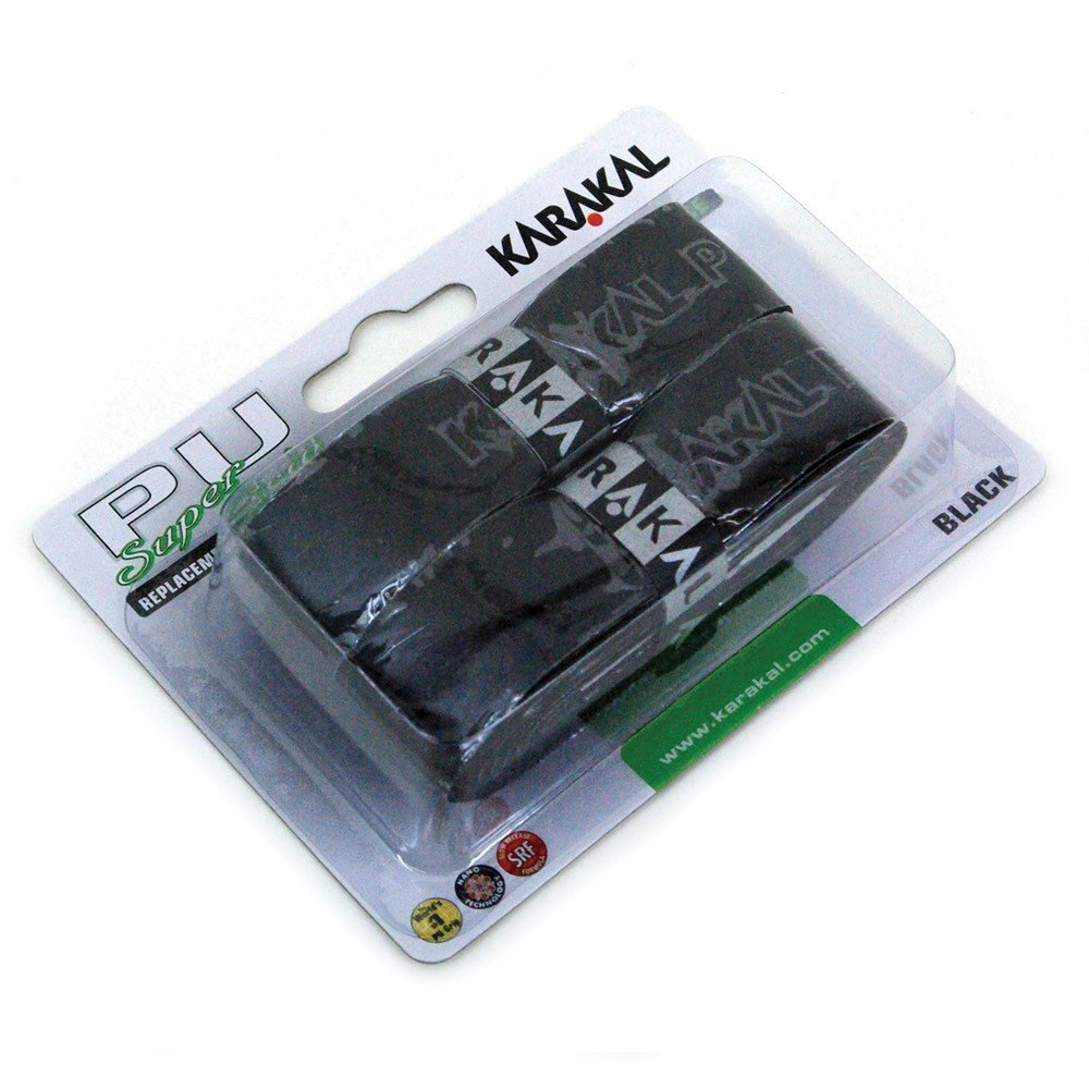 Karakal PU Super Grip Black - Pack of 2