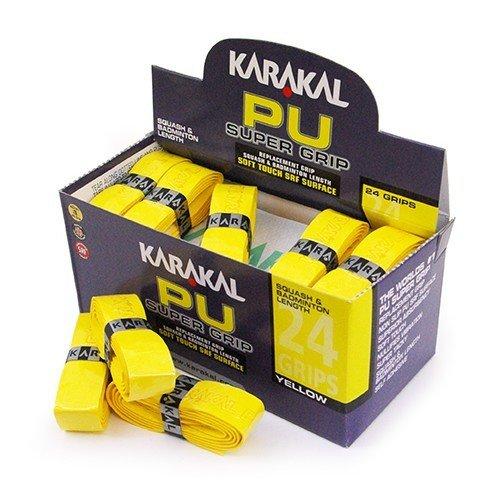Karakal PU Super Grip Yellow - Box of 24