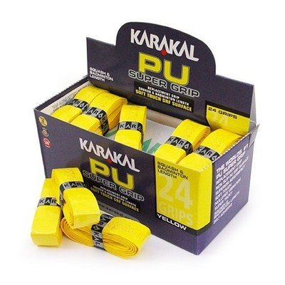 Karakal PU Super Grip Yellow - Box of 24