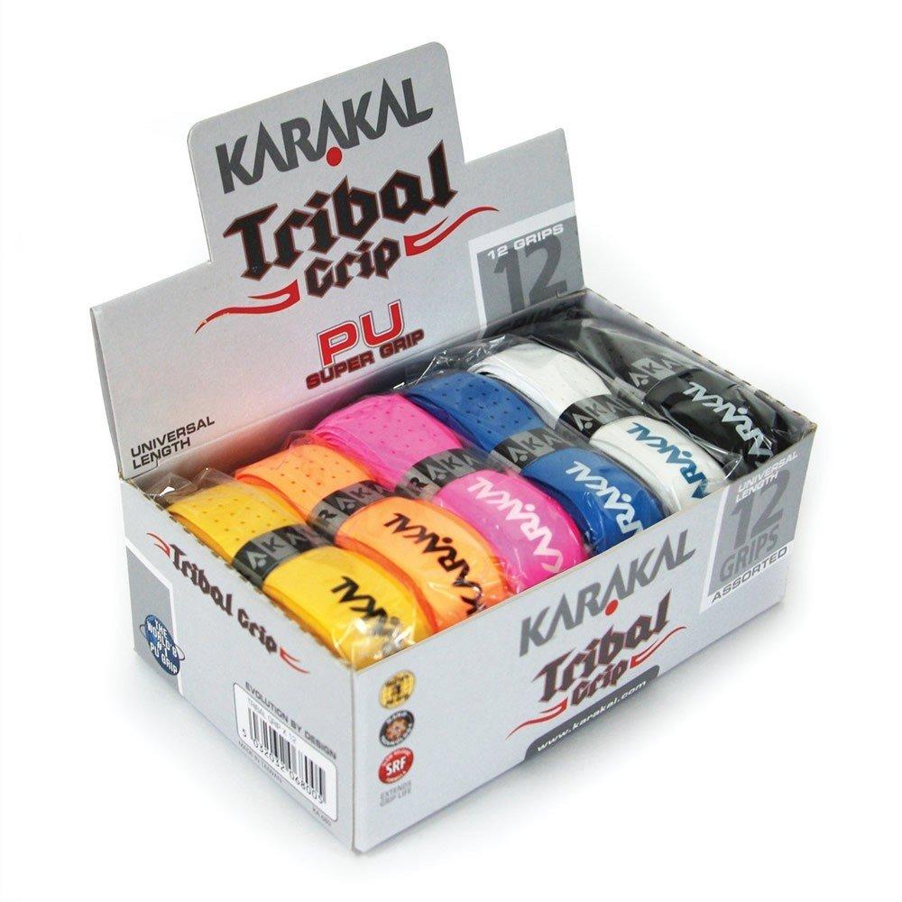 Karakal PU Super Tribal Grip pack of 6 or pack of 12