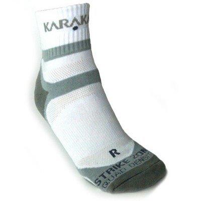 Karakal X4-Technical Ankle Sock - White