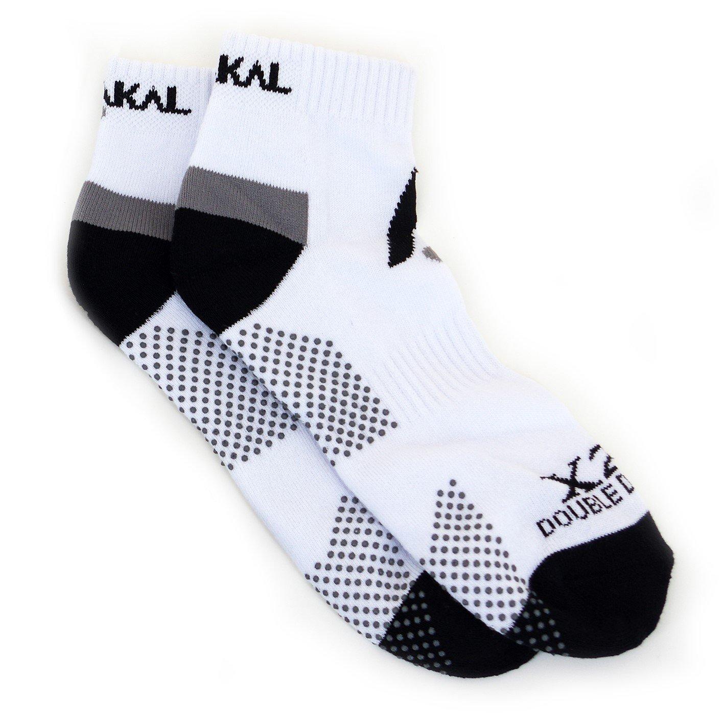 Karakal X2+ Mens Trainer Socks - White and Black