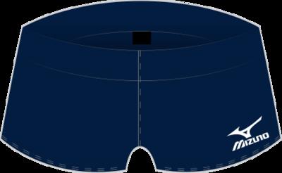 Mizuno Navy shorts