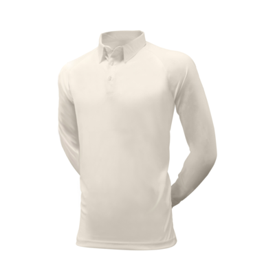 Long sleeve cricket playing shirt