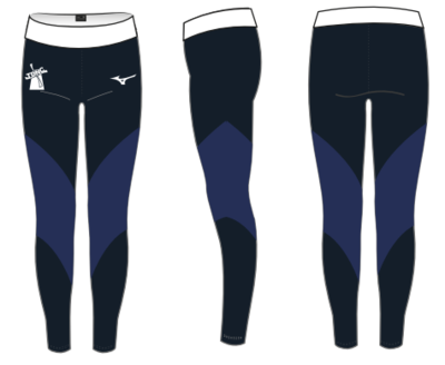 Mizuno Downs Netball Club Senior team leggings