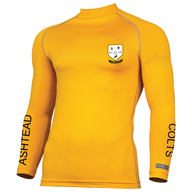 Ashtead FC Yellow baselayer
