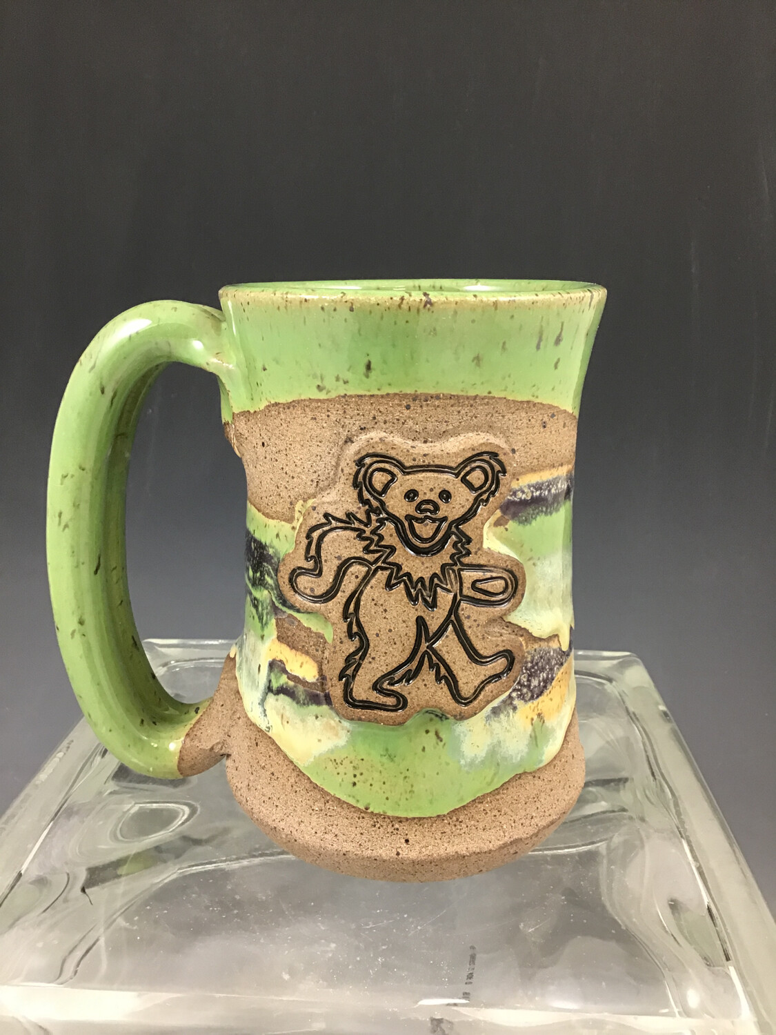 Grateful Dead Dancing Bear Stein
