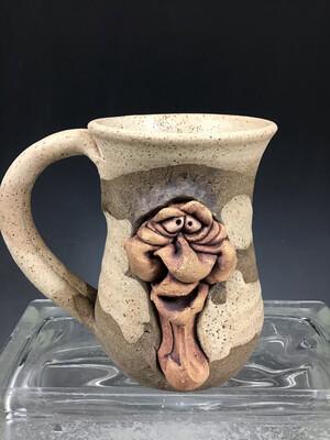 Tan Face Mug