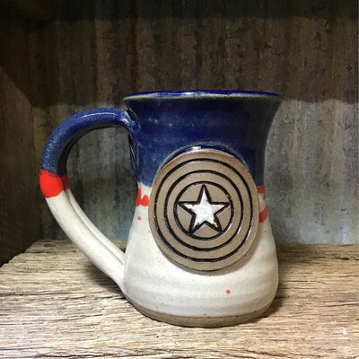 Captain America Coffee Cup