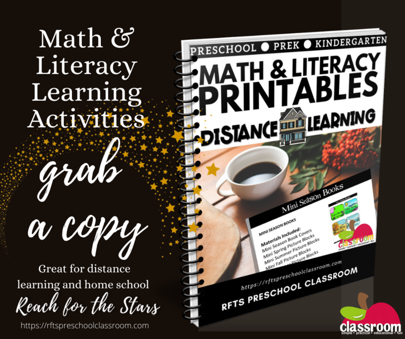 MATH & LITERACY PRINTABLES