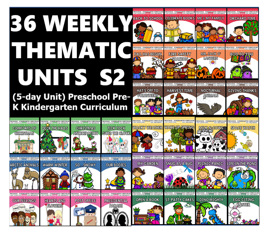 36 WEEKLY THEMATIC UNITS  Series 2