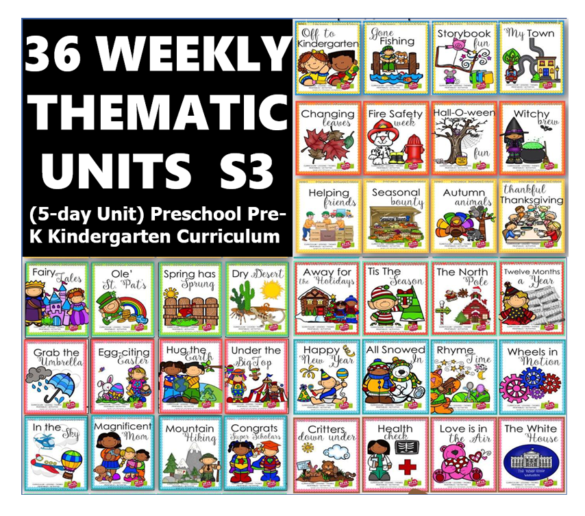 36 WEEKLY THEMATIC UNITS Series 3