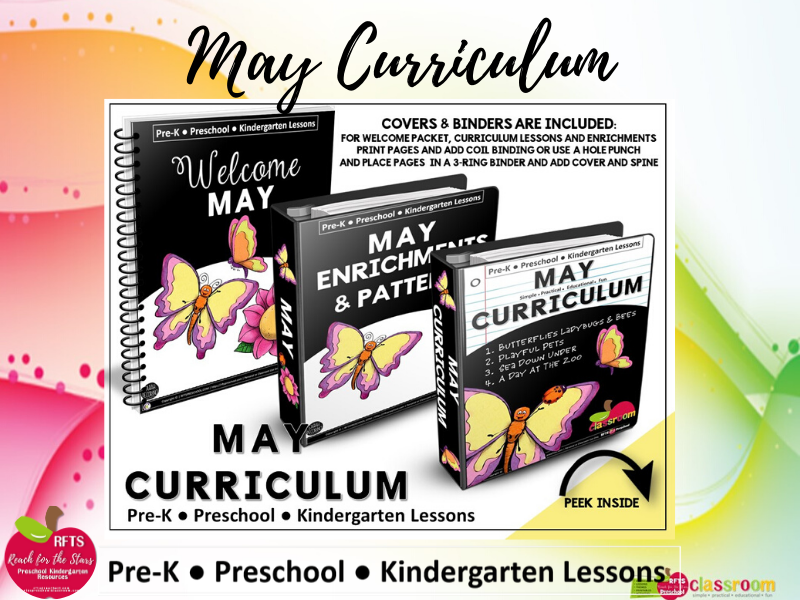 MAY CURRICULUM PREK KINDERGARTEN