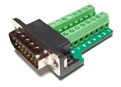 Screw terminal plug