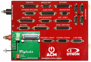 AFS/Dynon Advanced Control Module controller board