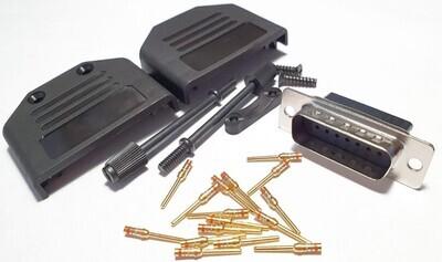 DB15 Crimp pin plug