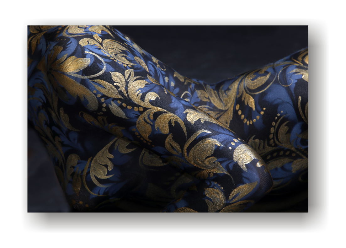 Painted Body canvas print