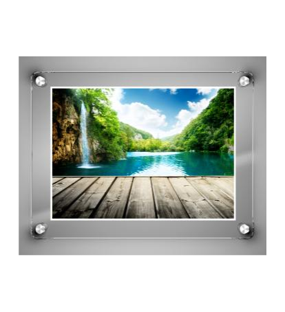 Glass Frame / Frameless Frames / Post Frame / Borderless Frame