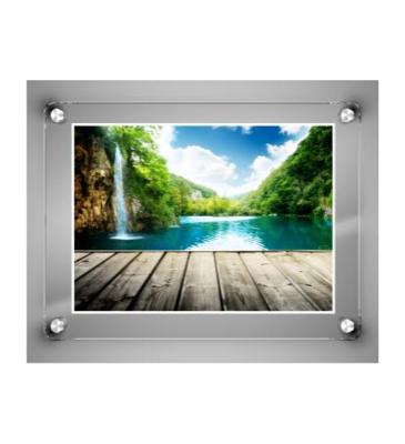 Glass Frame / Frameless Frames / Post Frame / Borderless Frame