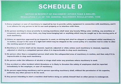 Schedule D