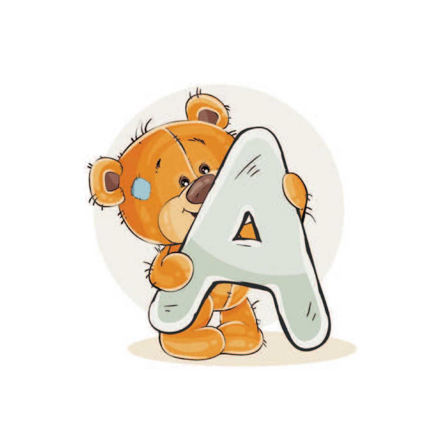 Teddy Bear letters