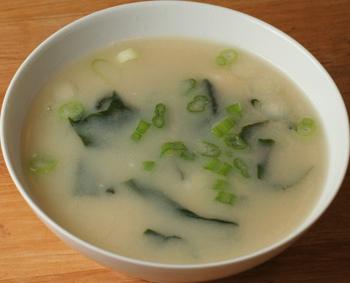 25. Miso soup