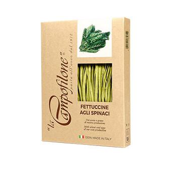 Fettuccine agli spinaci - 250 gr