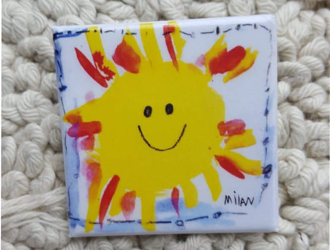 Milan's Sunshine Pin