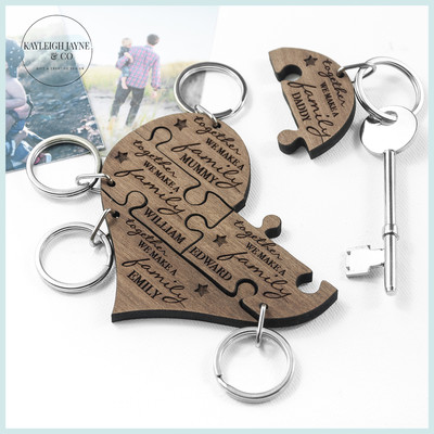 Together We Make Family Keyring - Keepsake Gift