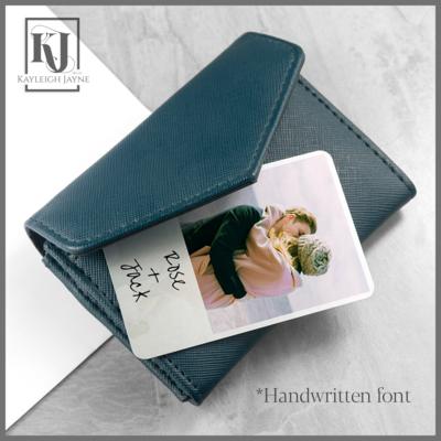 Personalised Keepsake For Purse Or Wallet