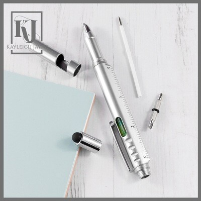 Personalised 8-in-1 Multi Tool Pen