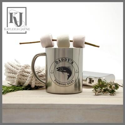 Gentleman's Fishing Fuel Outdoor Mug