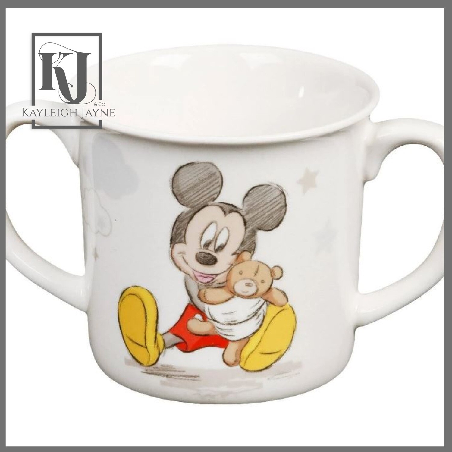 DISNEY MAGICAL BEGINNINGS MICKEY MUG - BABY BOY