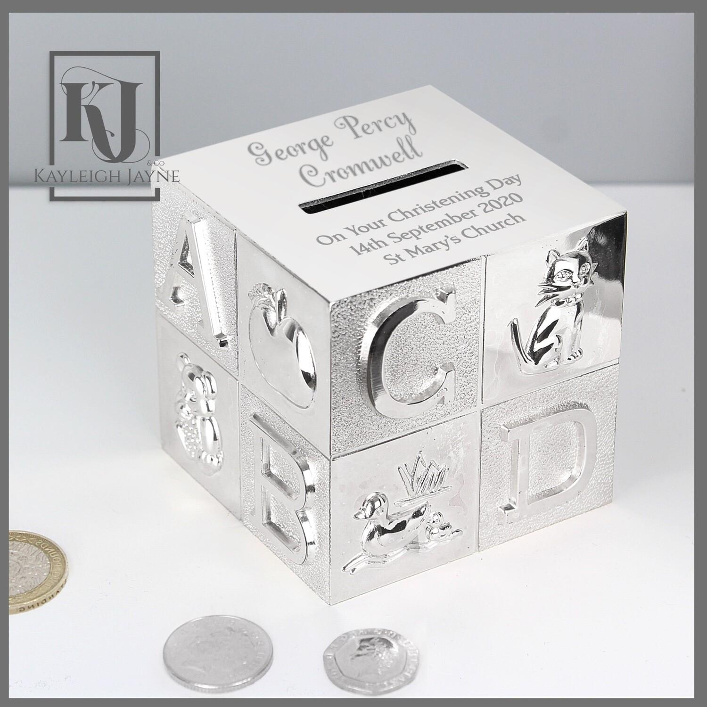 Personalised Name ABC Money Box