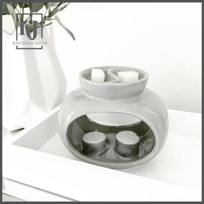 Ceramic Wax Melt Burner - Deluxe Rome